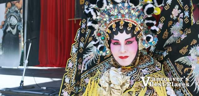 Cantonese Opera Performer