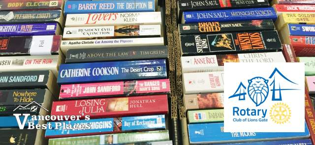 Lions Gate Rotary Book Sale Books