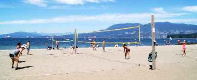 Volleyball at Kitsilano Beach