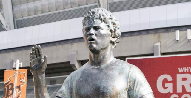 Terry Fox at GM Place