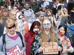 Zombie Walk Crowds