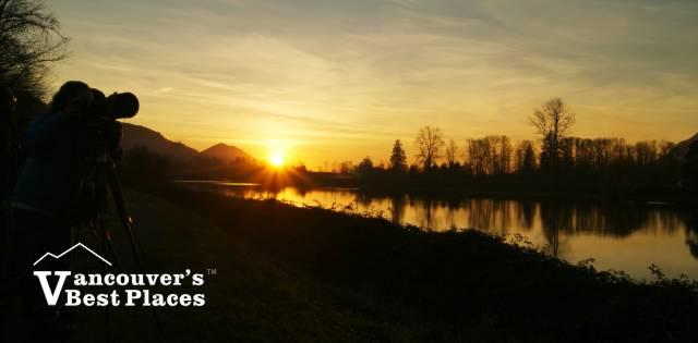 Harrison River Sunset Photography