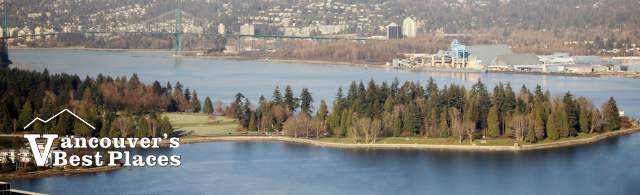 Southeastern Tip of Stanley Park