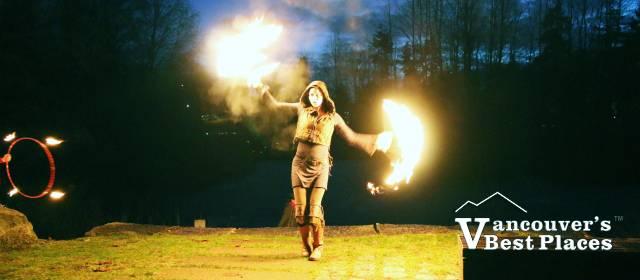 LightWaterDrums Fire Performer