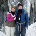 Snowshoeing on Valentine's Day