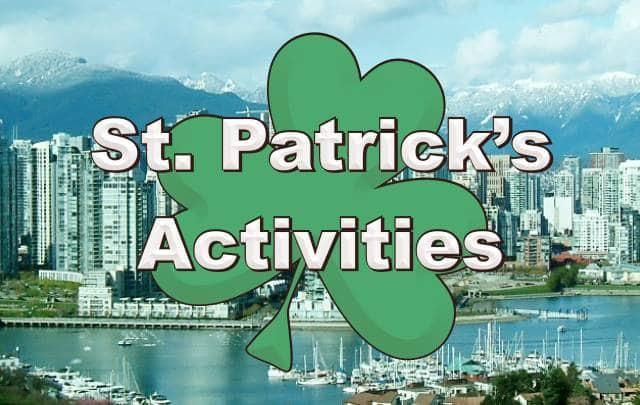 St. Patrick's Activities