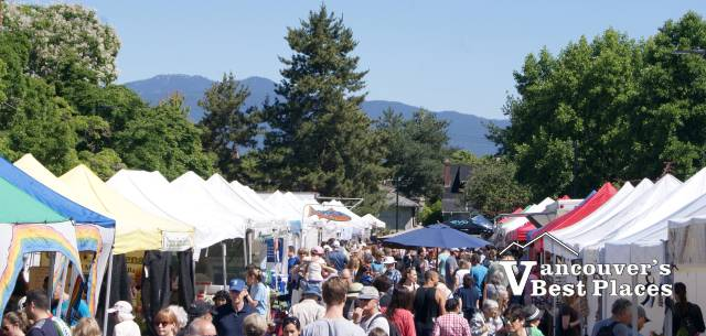 Kitsilano's Farmers Market