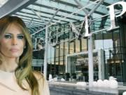 Melania Trump in Vancouver