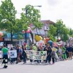 Earth Day Parade Procession