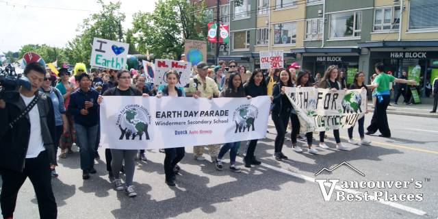 Vancouver Earth Day Parade