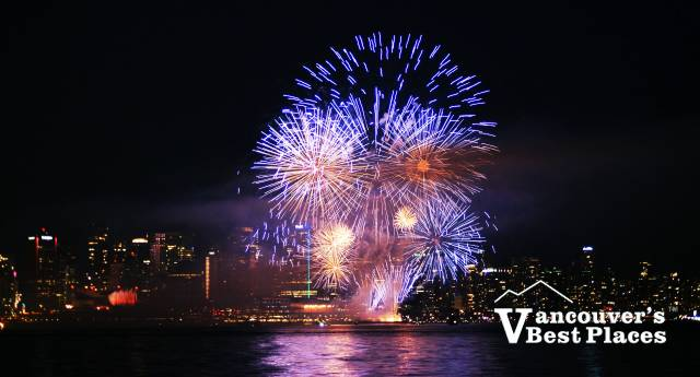 Burrard Inlet Fireworks