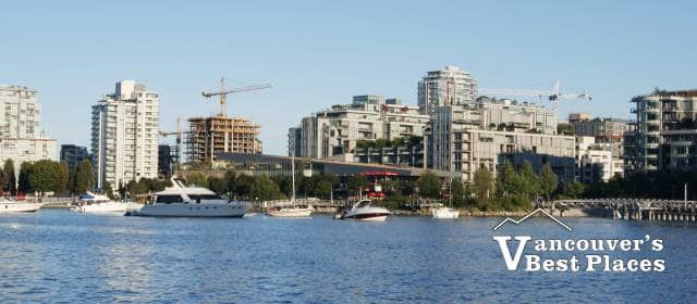 False Creek at Olympic Village