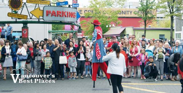Granville Island Canada Day Parade