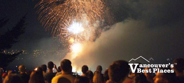 Celebration of Lights from Locarno Beach