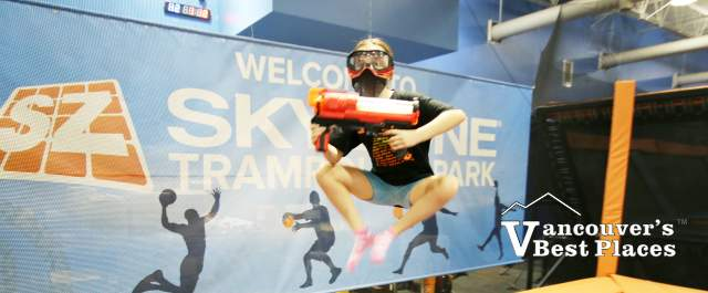 Sky Wars Warrior at Sky Zone