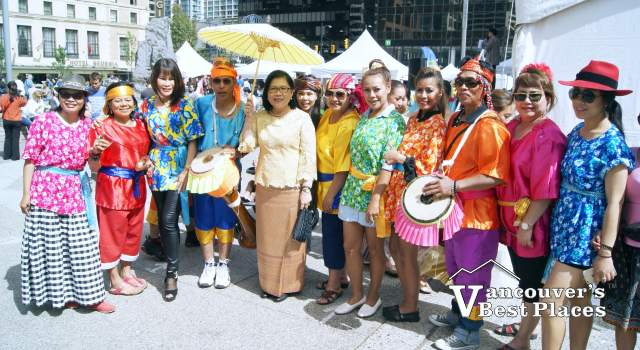 Thai Festival Performers
