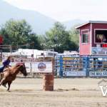 Barrel Racing at Chilliwack Rodeo