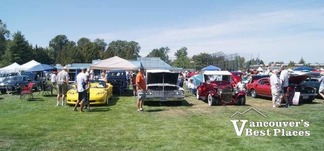 Car Show at Tsawwassen Sun Festival