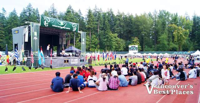 Swangard Stadium at Korean Festival