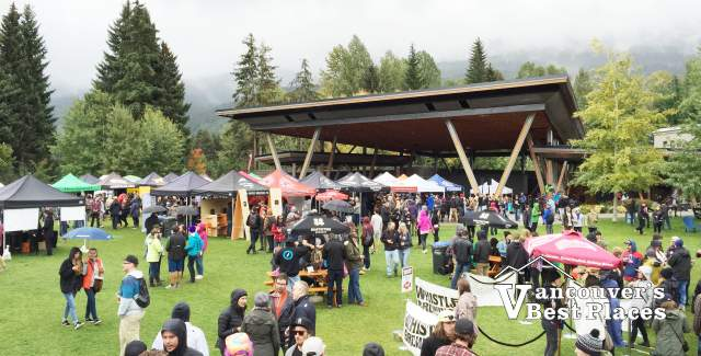 Beer Festival at Whistler Olympic Plaza