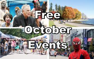 Free October Events in Vancouver