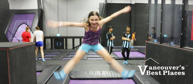 Leaping High at Apex Trampoline Park