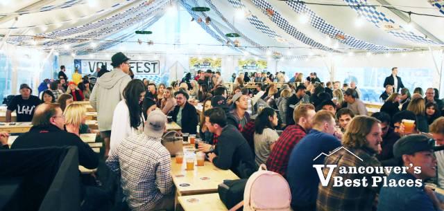 Port Moody Oktoberfest Beer Garden