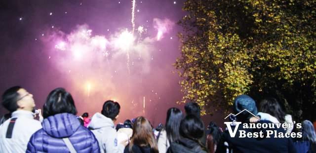 Richmond Fireworks at Minoru Park