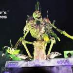 Skeleton at the Darkness Haunted House