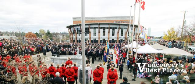 Surrey Remembrance Day