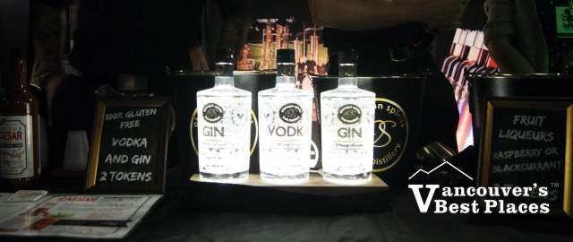 Hopscotch Festival Gin and Vodka