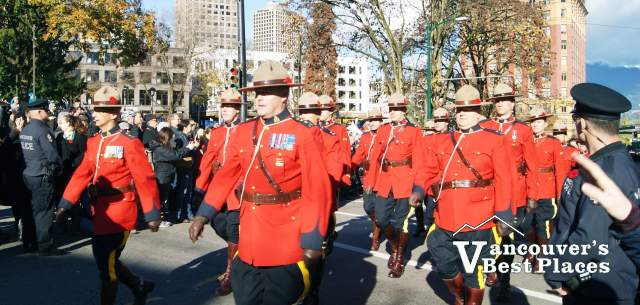 RCMP at Remembrance Day