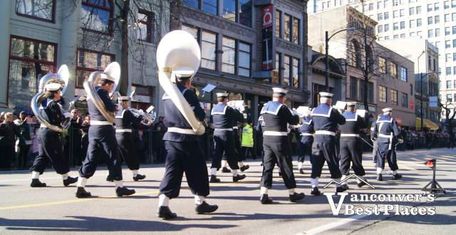Remembrance Day Marching Band