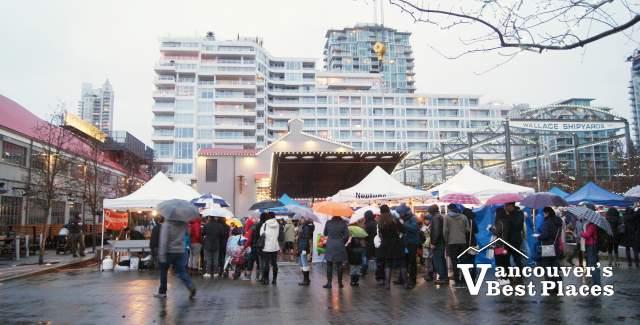 Shipbuilders' Square at Shipyards Christmas Festival
