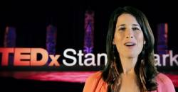 Andrea Menard at TEDx 2018