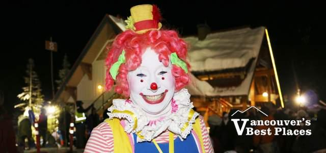 Mt. Seymour First Night Clown