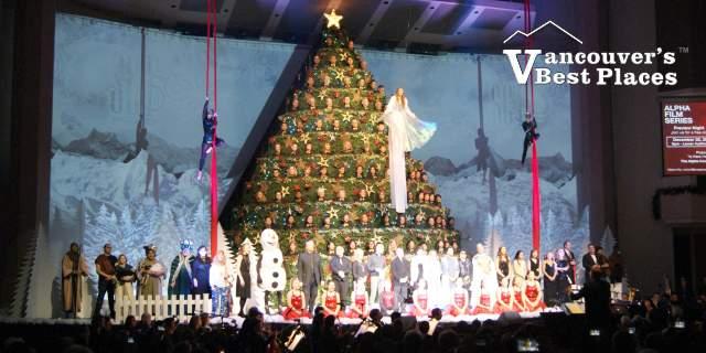 Vancouver Singing Christmas Tree
