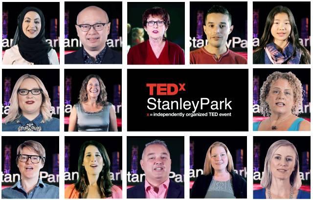 TEDxStanleyPark 2018 Speakers