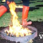 Fire Jumping at Persian Festival