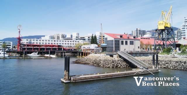 Roch Dock at Shipbuilders' Square