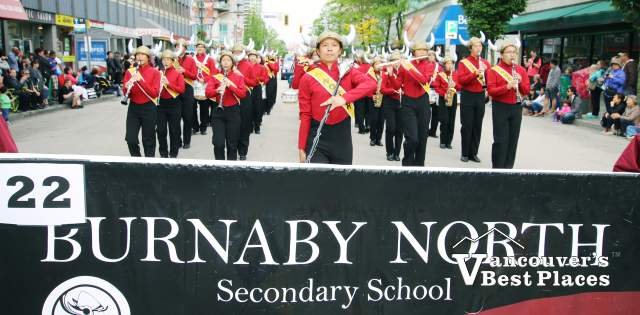 Burnaby North School Marching Band