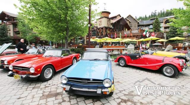 Car Show at Creekside Village