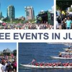 Free Events in June Collage