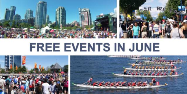 Free Events in June