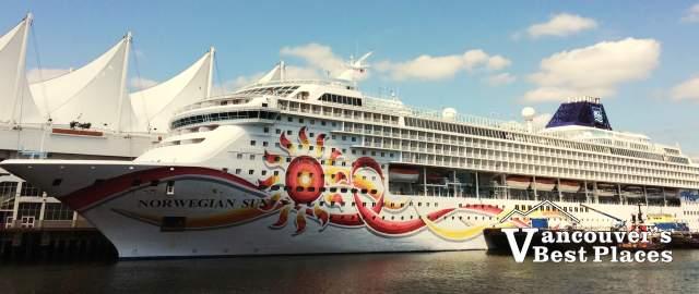 Norwegian Sun Cruise Ship in Vancouver