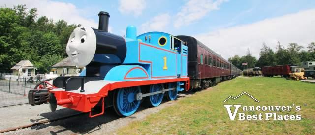Thomas the Train at West Coast Heritage Railway