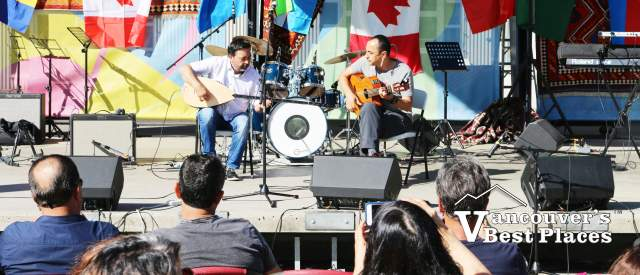 Turkic Festival Musicians