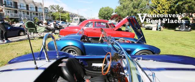 Steveston Sockeye Run Car Show