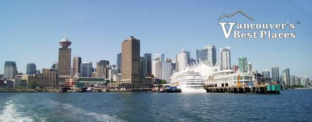 Downtown Vancouver View from Seabus