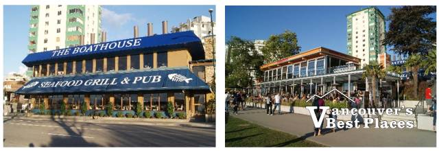 English Bay Restaurants